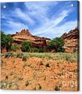 Capitol Reef Castle Acrylic Print