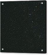Cassiopeia Constellation Acrylic Print by John Sanford