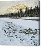 Castle Mountain Acrylic Print