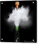 Champagne Cork Popping Acrylic Print