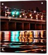 Champlain Bridge Acrylic Print