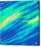 Cholesteric Liquid Crystals Acrylic Print