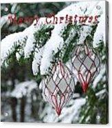Christmas Card 2194 Acrylic Print