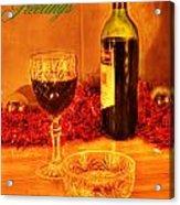 Christmas Poster Acrylic Print