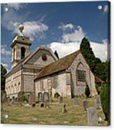 Church Of St. Lawrence West Wycombe  Acrylic Print