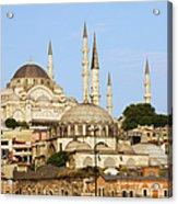 City Of Istanbul Acrylic Print