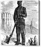 Civil War: Black Troops Acrylic Print