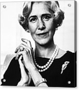 Clare Boothe Luce (1903-1987) Acrylic Print