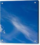 Cloud Imagery Acrylic Print
