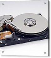 Computer Hard Disc Acrylic Print
