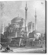 Constantinople: St. Sophia Acrylic Print