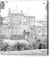 Corroy Le Chateau Gembloux Belgium Acrylic Print