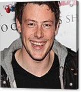 Cory Monteith At In-store Appearance Acrylic Print