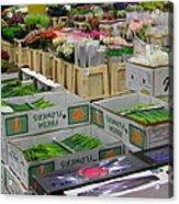 Covent Garden Flower Market Acrylic Print