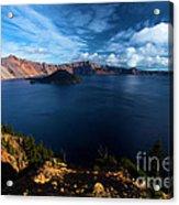Crater Lake Blues Acrylic Print
