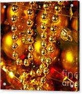 Crhistmas Decorations Acrylic Print