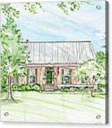Custom House Rendering Sample Acrylic Print