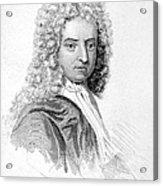 Daniel Defoe (c1659-1731) Acrylic Print