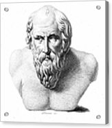 Diogenes (d. C320 B.c.) Acrylic Print by Granger