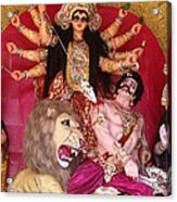 Durga Goddess 2012 Acrylic Print