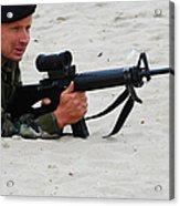Dutch Royal Marines Taking Part Acrylic Print