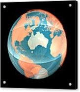 Earth, Computer Artwork Acrylic Print