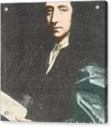 Edmond Halley, English Polymath Acrylic Print