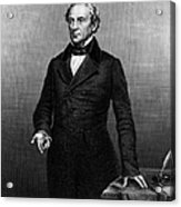 Edward Everett (1794-1865) Acrylic Print by Granger