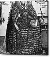 Elizabeth I (1533-1603) Acrylic Print