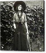 Elsie Janis (1889-1956) Acrylic Print