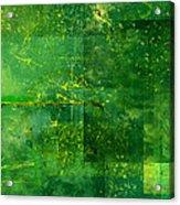Emerald Heart Acrylic Print by Christopher Gaston