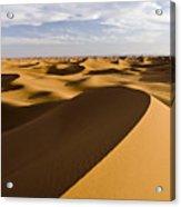 Erg Chigaga, Sahara Desert, Morocco, Africa Acrylic Print by Ben Pipe Photography