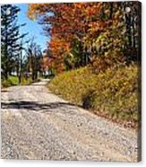 Fall Color Randolph County West Virginia Acrylic Print
