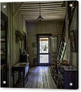 Farmhouse Entry Hall And Stairs Acrylic Print