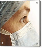 Female Surgeon Acrylic Print