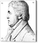 Franz Mesmer, German Physician Acrylic Print