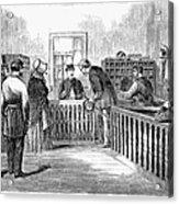 Freedmens Bureau, 1866 Acrylic Print