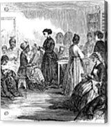 Freedmens School 1866 Acrylic Print by Granger