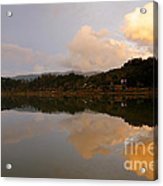 Furnas Lake Acrylic Print