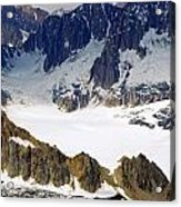 Galcier - Kenai Peninsula Acrylic Print
