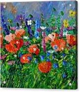 Garden Flowers  Acrylic Print