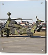 German Tiger Eurocopter At Fritzlar Acrylic Print
