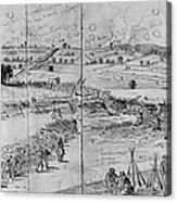 Gettysburg, 1863 Acrylic Print