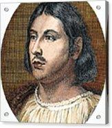 Giovanni Boccaccio Acrylic Print