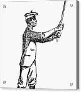 Golf, 1891 Acrylic Print