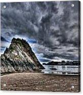 Goscar Rock Tenby Acrylic Print