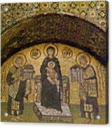 Hagia Sophia: Mosaic Acrylic Print