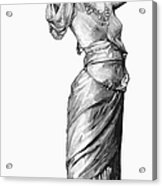 Harem Woman, 19th Century Acrylic Print