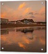 Hastings Sunset Acrylic Print