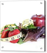 Healthy Diet Acrylic Print by Photo Researchers, Inc.
